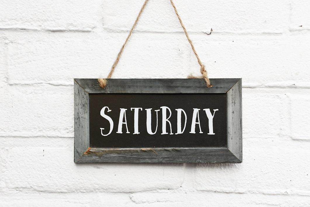 We Are Open Saturdays