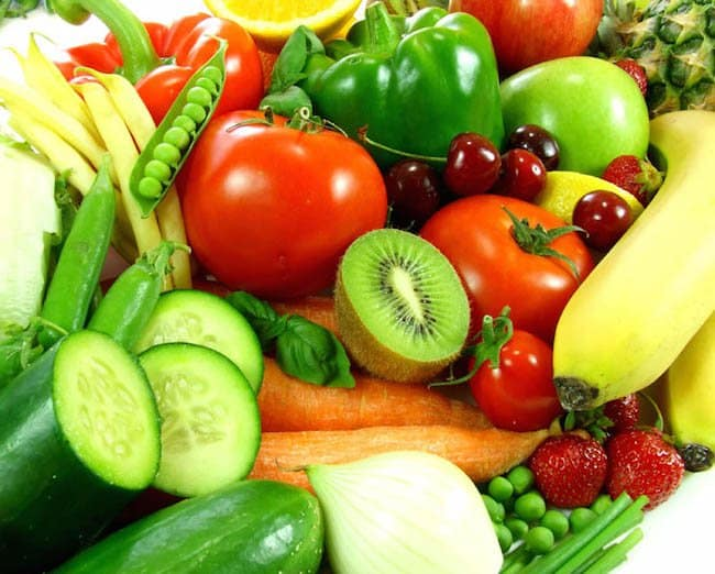 A Victory With Fresh Fruits and Vegetables
